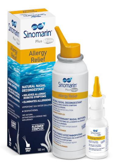 Sinomarin® Plus Algae Allergy Relief
